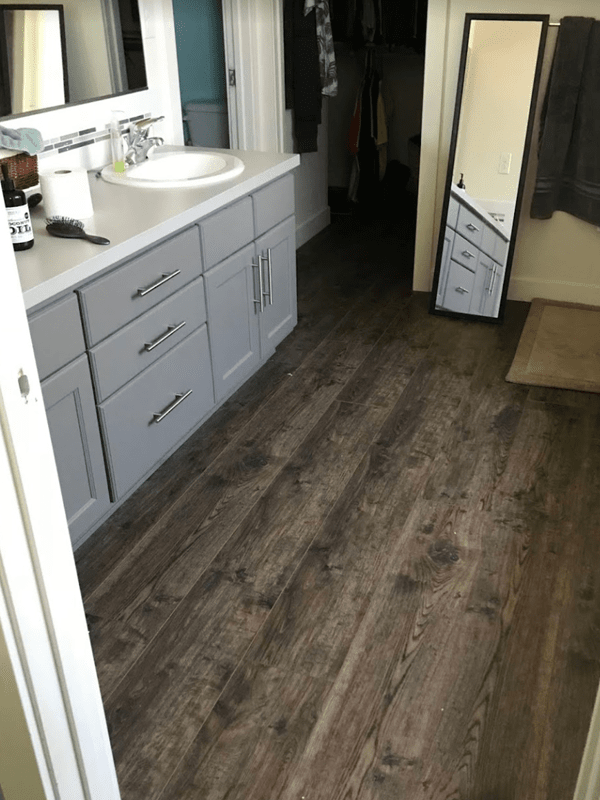 Luxury vinyl plank flooring from Brothers Flooring in Cheney, WA