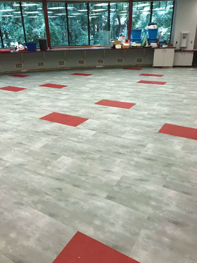 Commercial floors in Wisconsin from Hiller Stores