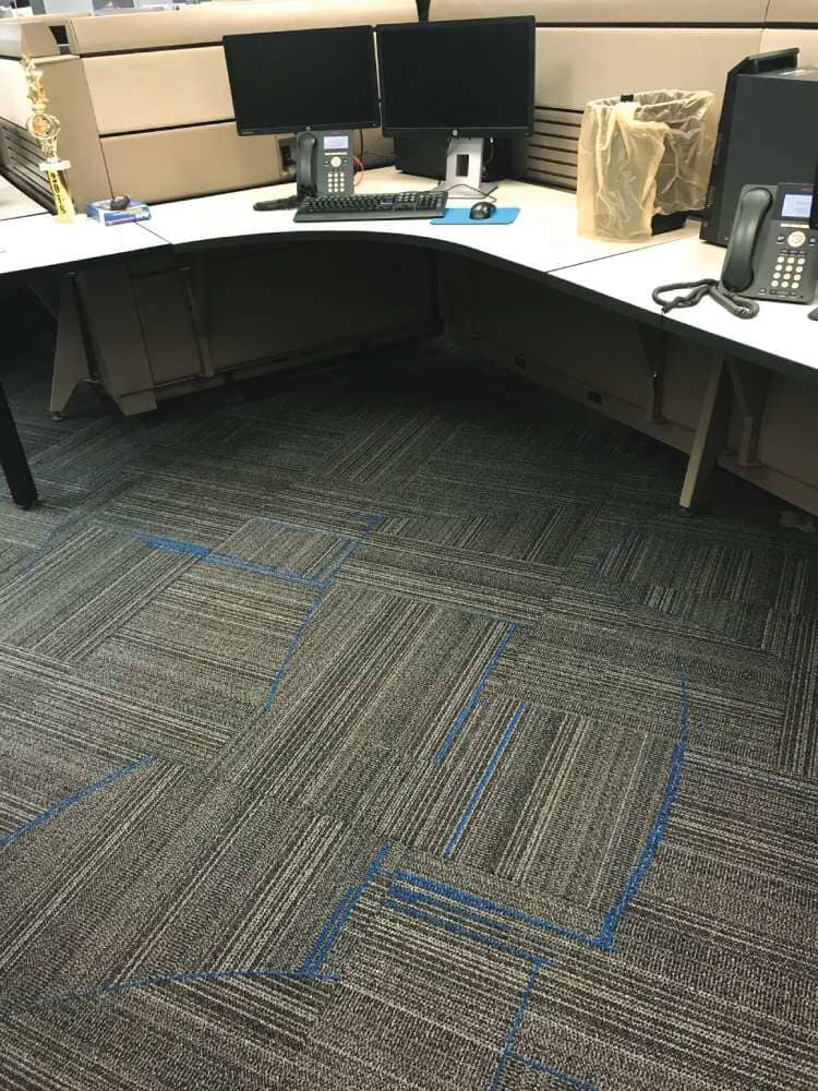 Durable office flooring in North Dakota from Hiller Stores