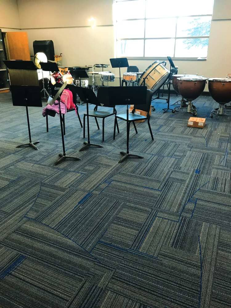 Acoustic friendly flooring in Minnesota from Hiller Stores