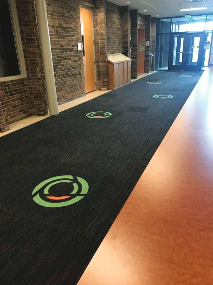 Commercial carpet and vinyl in South Dakota from Hiller Stores