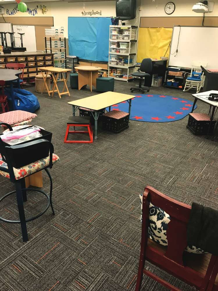 School room flooring in South Dakota from Hiller Stores