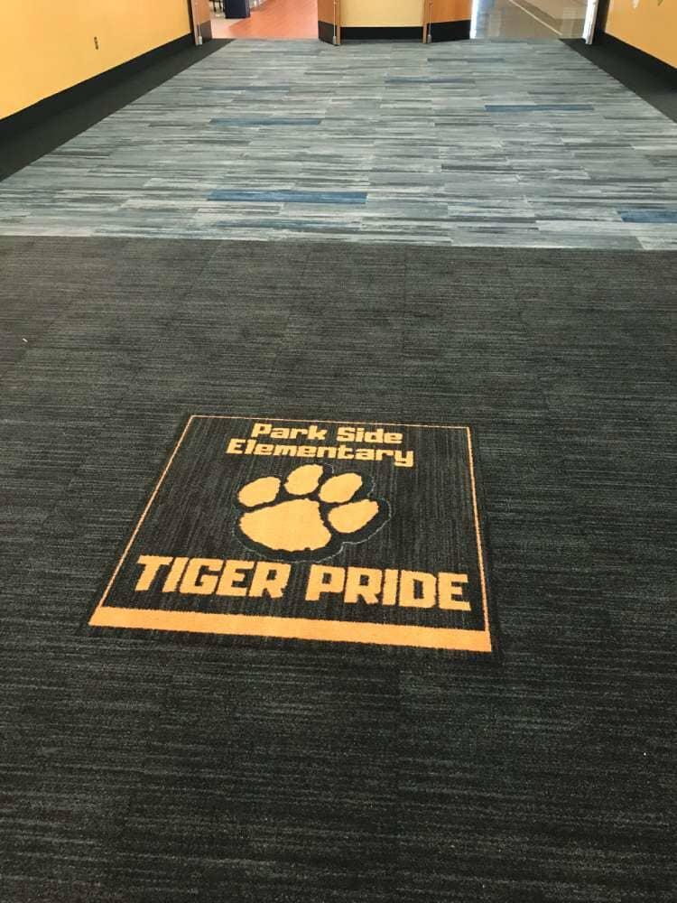 Park Side Elementary flooring installation from Hiller Stores