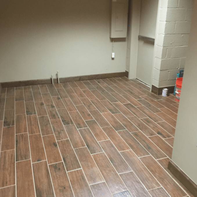 Luxury vinyl tile flooring from Carpet Village in Severn, MD