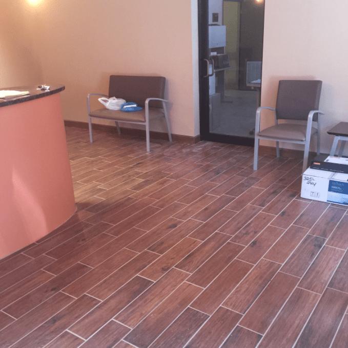 Luxury vinyl flooring from Carpet Village in Ferndale, MD