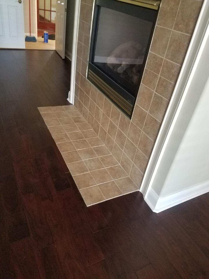 Living room flooring in Tampa, FL from Tampa Contract Floors & Tampa Flooring Gallery