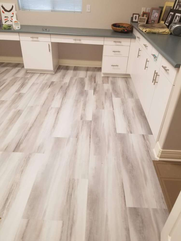 Modern vinyl plank in Salt Lake City, UT from Underwood Carpets & Floorcovering
