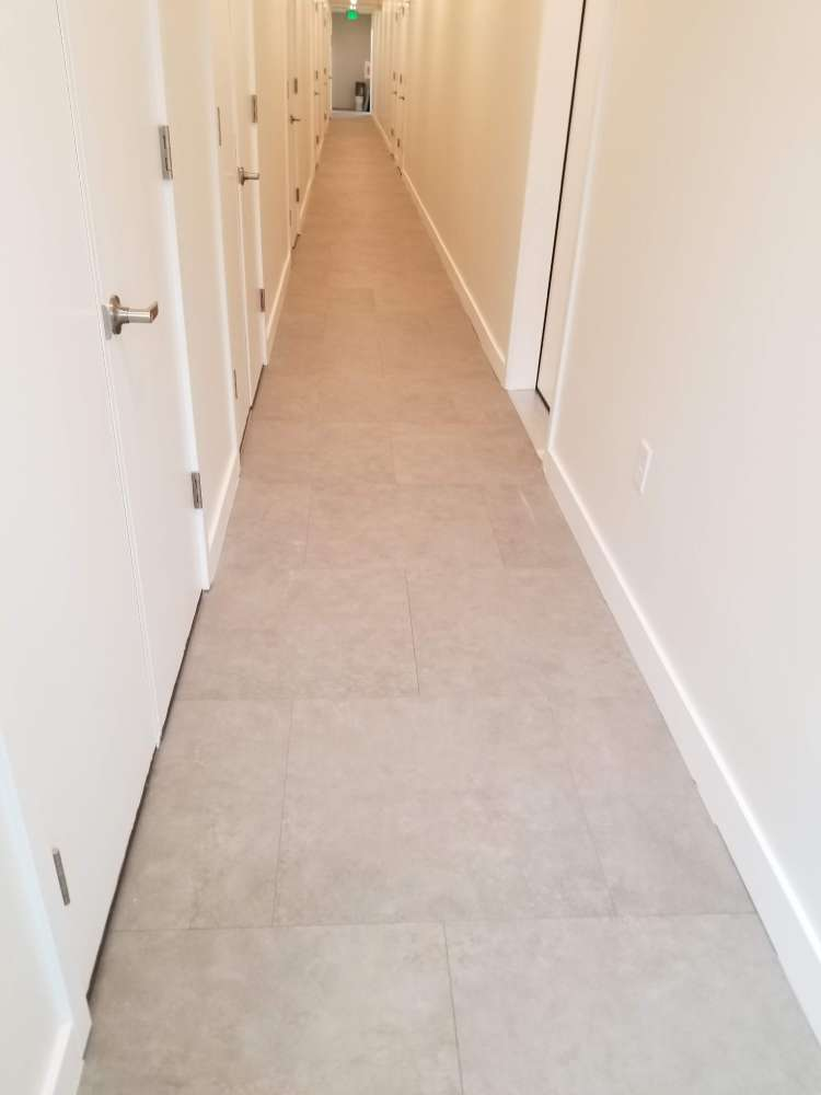 Hallway tile flooring in Park City, UT from Underwood Carpets & Floorcovering