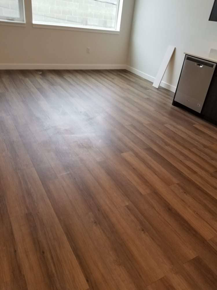 Vinyl flooring installation in Sandy, UT from Underwood Carpets & Floorcovering