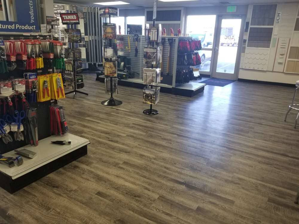 Wood look commercial flooring in Cottonwood Heights, UT from Underwood Carpets & Floorcovering