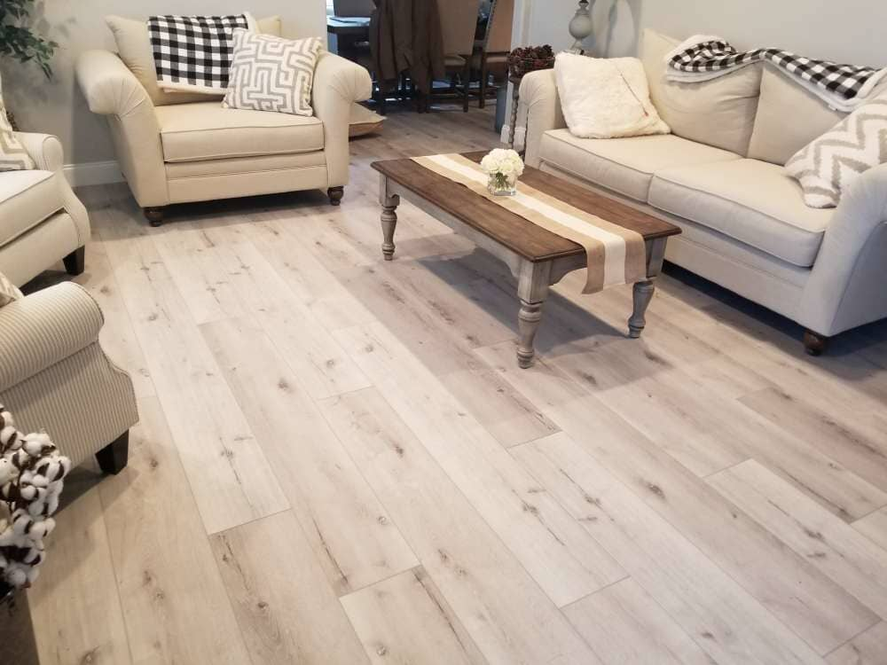 Modern living room flooring in Sandy, UT from Underwood Carpets & Floorcovering