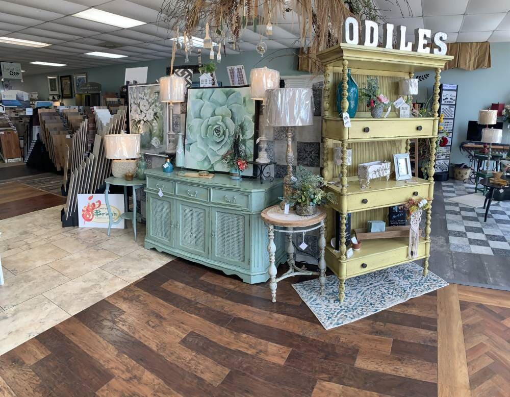 Modern laminate flooring for your Sulphur, LA home from Odile's Fine Flooring & Design