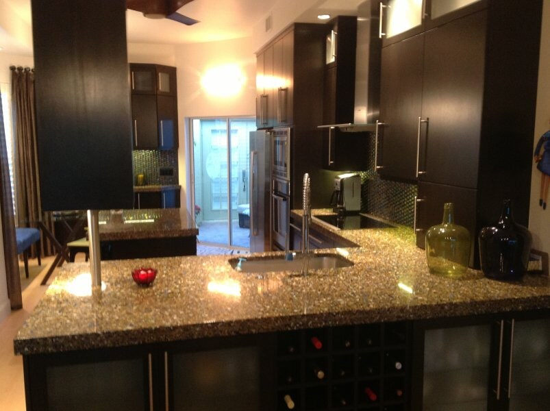 Kitchen countertop in Lee County, FL from Classic Floors & Countertops