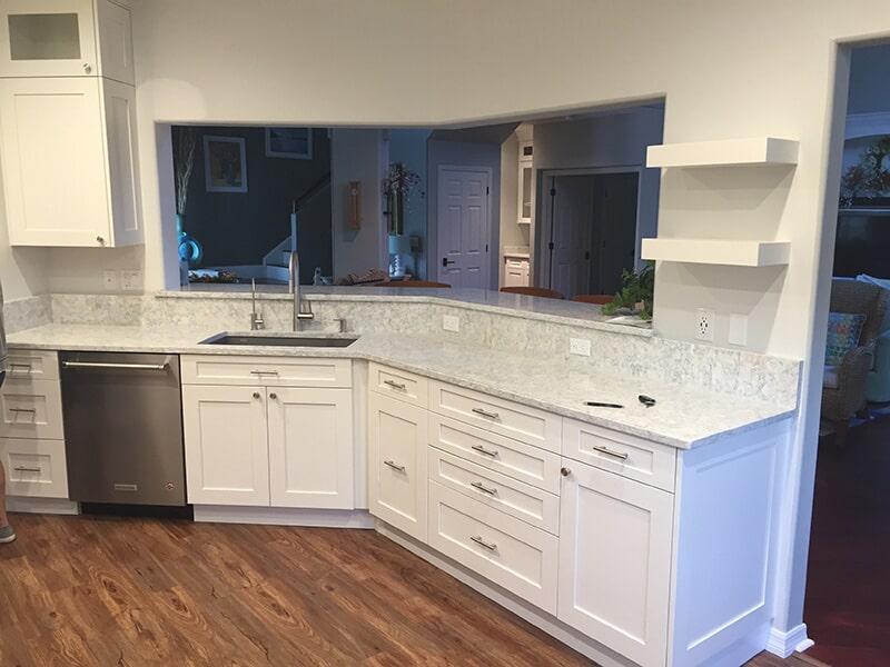 Kitchen remodel in Bonita Springs, FL from Classic Floors & Countertops