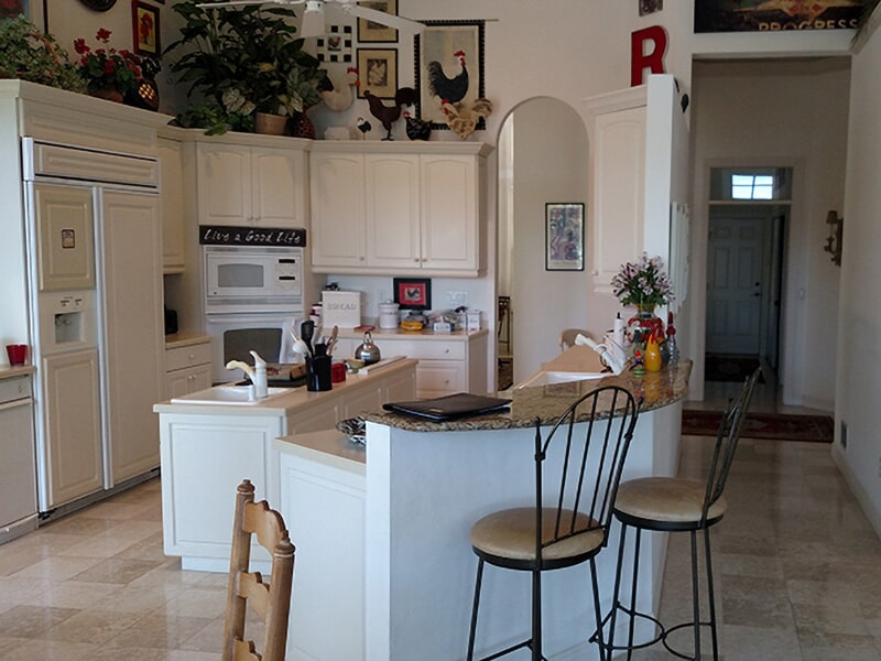 Kitchen flooring in Lee County, FL from Classic Floors & Countertops