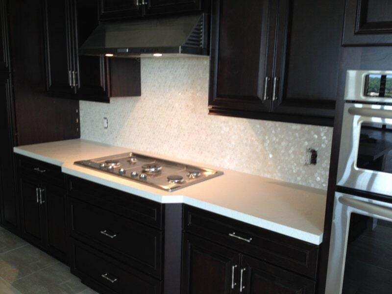 Tile backsplash in Collier County, FL from Classic Floors & Countertops