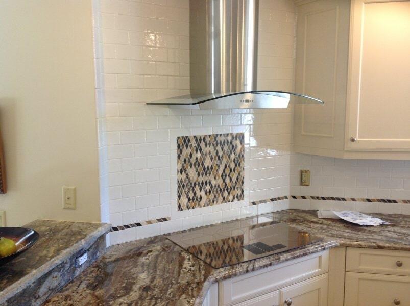 Kitchen backspalsh in Bonita Springs, FL from Classic Floors & Countertops