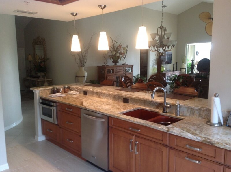 Kitchen countertops in Collier County, FL from Classic Floors & Countertops