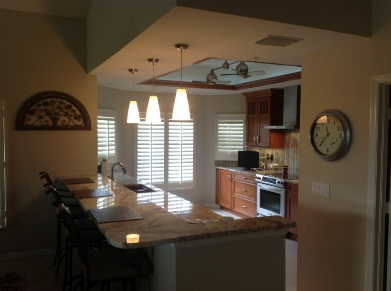 Kitchen remodel in Collier County, FL from Classic Floors & Countertops