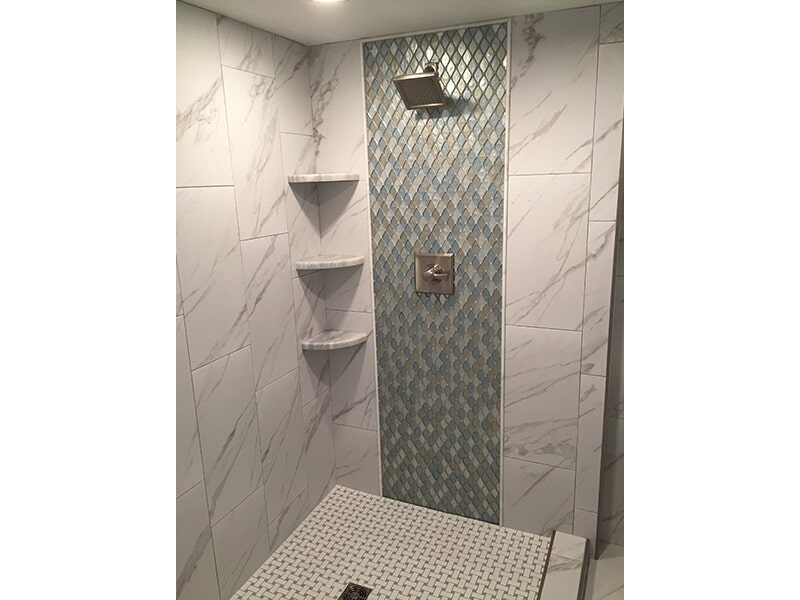 Bathroom tile in Lee County, FL from Classic Floors & Countertops