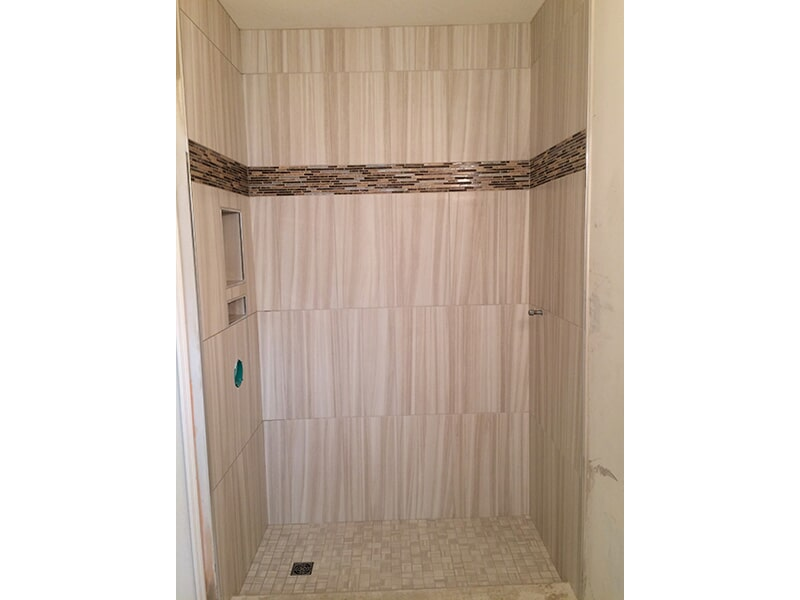 Bathroom shower in Collier County, FL from Classic Floors & Countertops