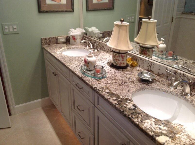 Bathroom countertops in Lee County, FL from Classic Floors & Countertops