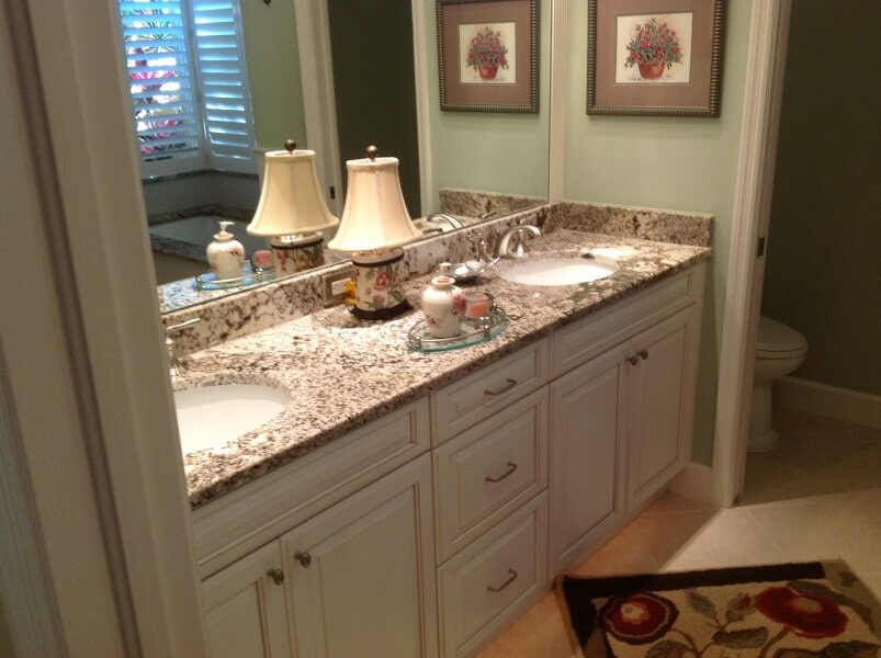 Bathroom cabinets in Collier County, FL from Classic Floors & Countertops
