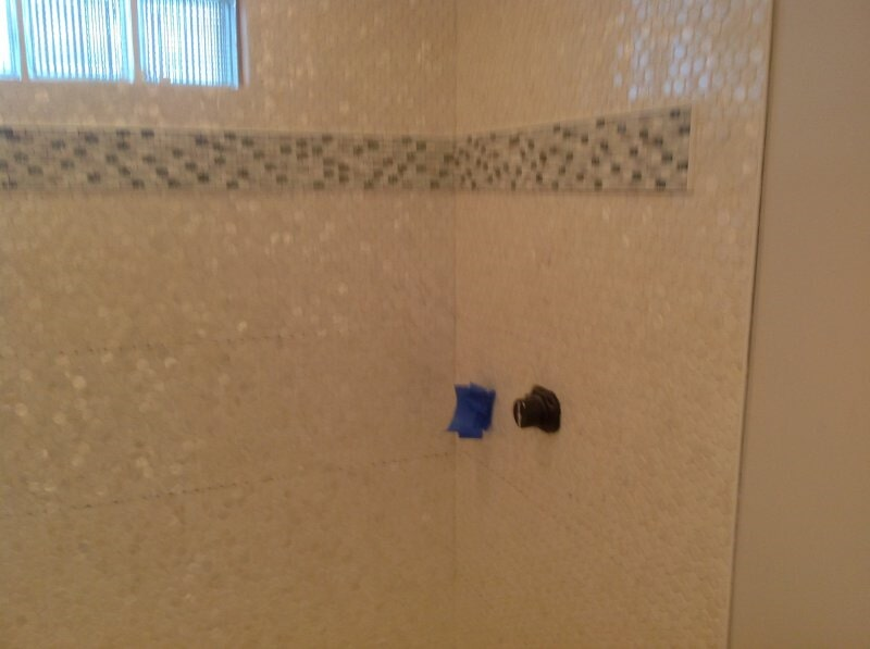 Bathroom shower tile in Collier County, FL from Classic Floors & Countertops