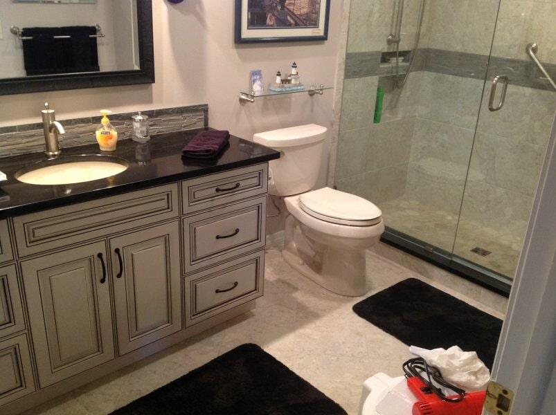 Bathroom remodel in Bonita Springs, FL from Classic Floors & Countertops