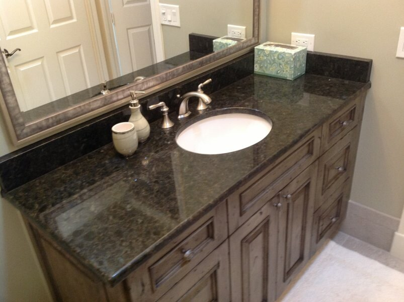 Bathroom countertops in Collier County, FL from Classic Floors & Countertops