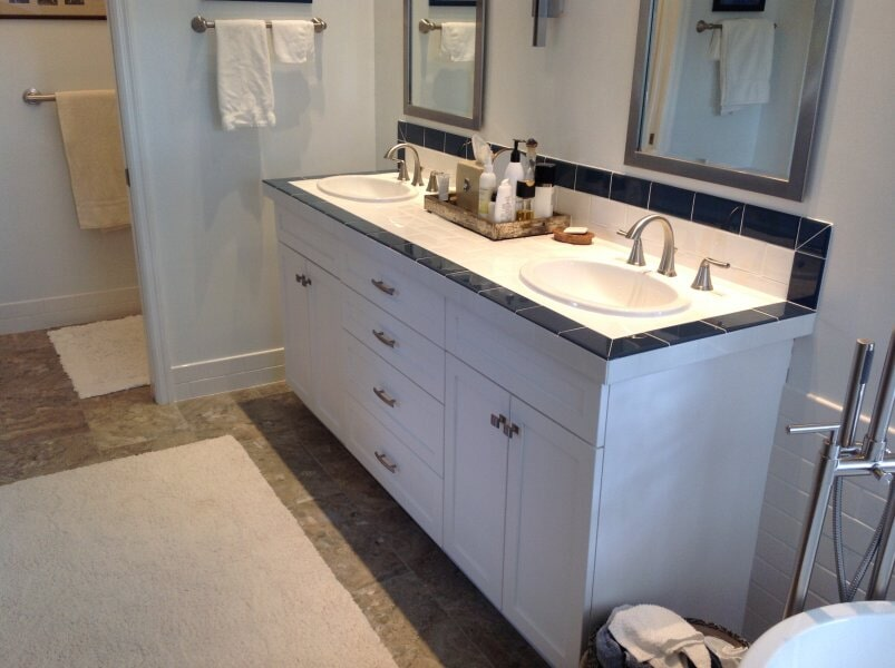 Bathroom cabinetry in Lee County, FL from Classic Floors & Countertops