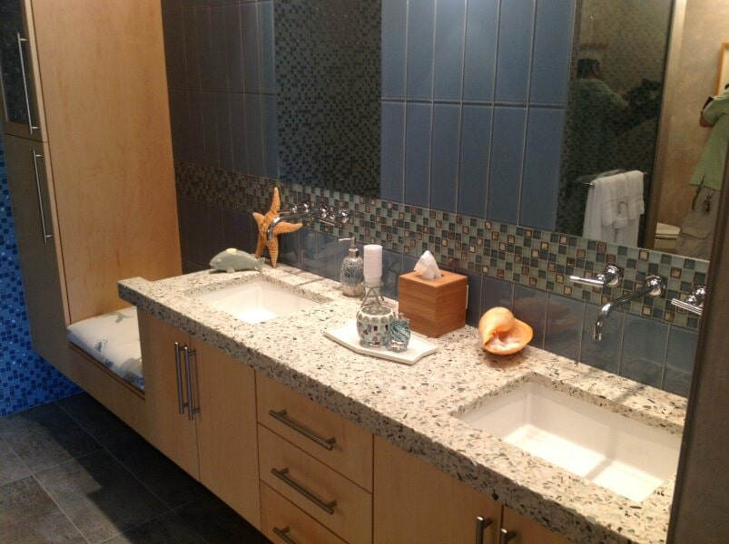 Bathroom vanity in Collier County, FL from Classic Floors & Countertops