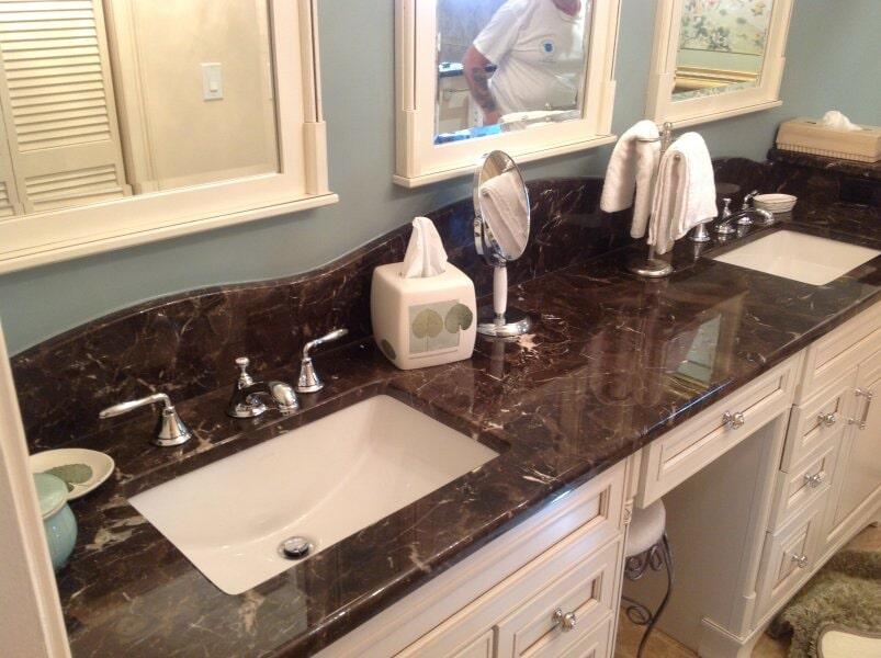 Bathroom vanity in Bonita Springs, FL from Classic Floors & Countertops