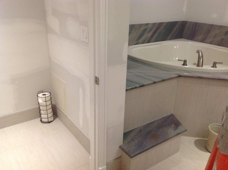 Bathroom remodel in Collier County, FL from Classic Floors & Countertops
