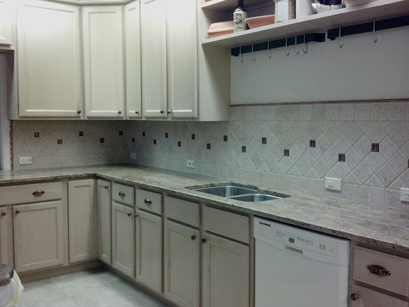 Kitchen backsplash in Collier County, FL from Classic Floors & Countertops