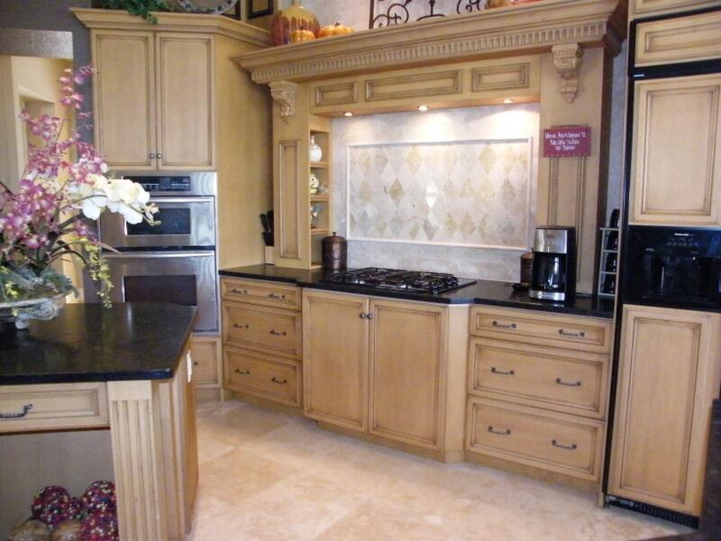Kitchen backsplash in Bonita Springs, FL from Classic Floors & Countertops