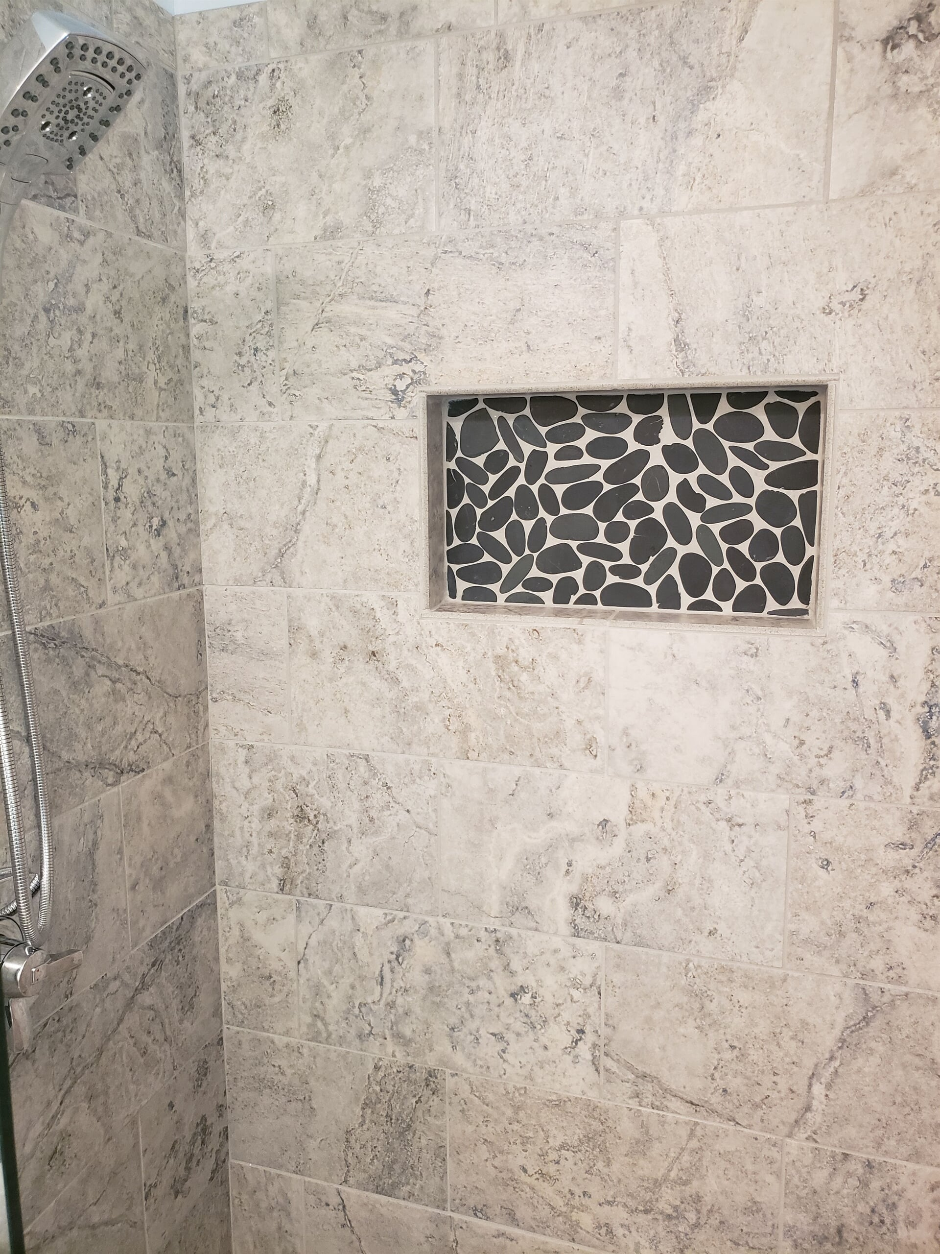 Custom tile shower in Hickory, NC from McLean Floorcoverings