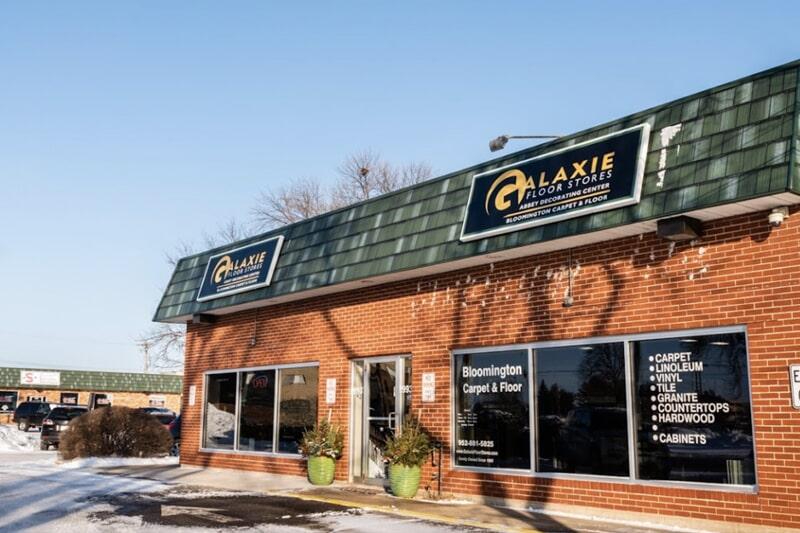 The Galaxie Floor Stores showroom in Bloomington, MN