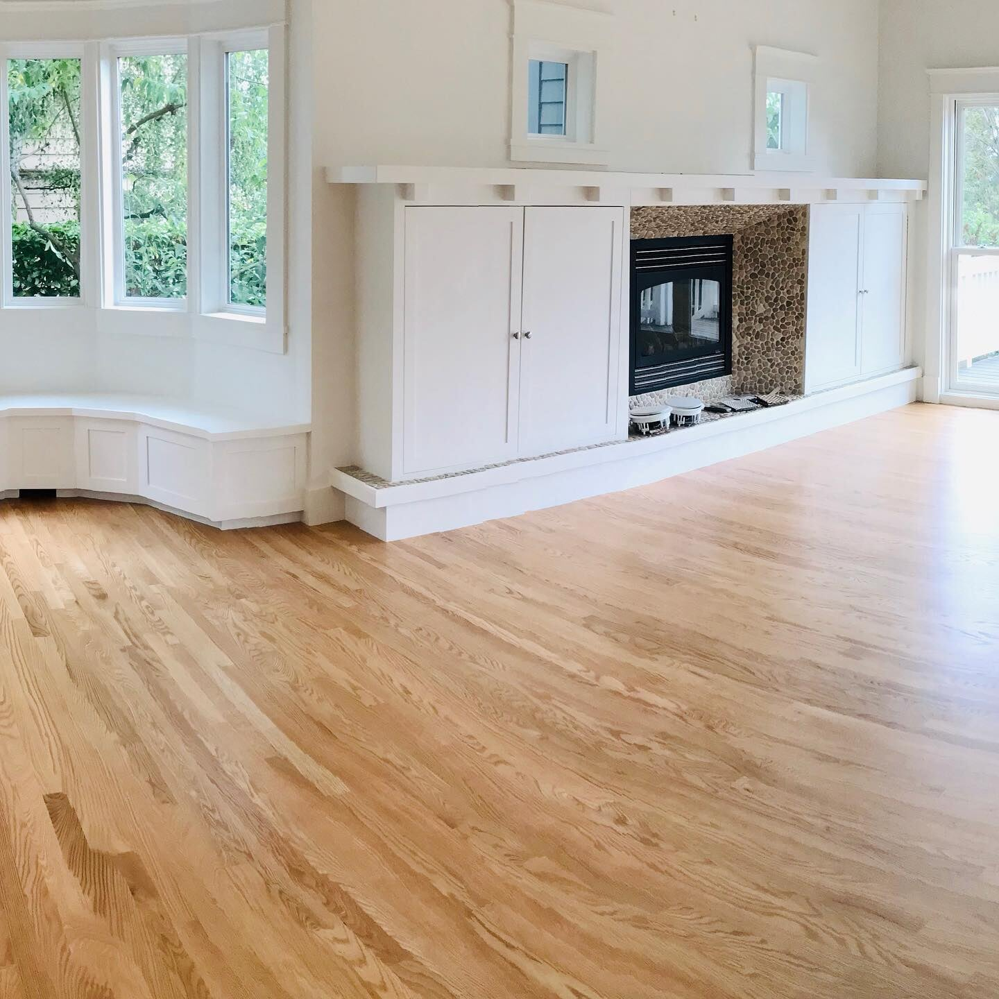 Hardwood flooring from LeBlanc Floors & Interiors in Redmond, WA
