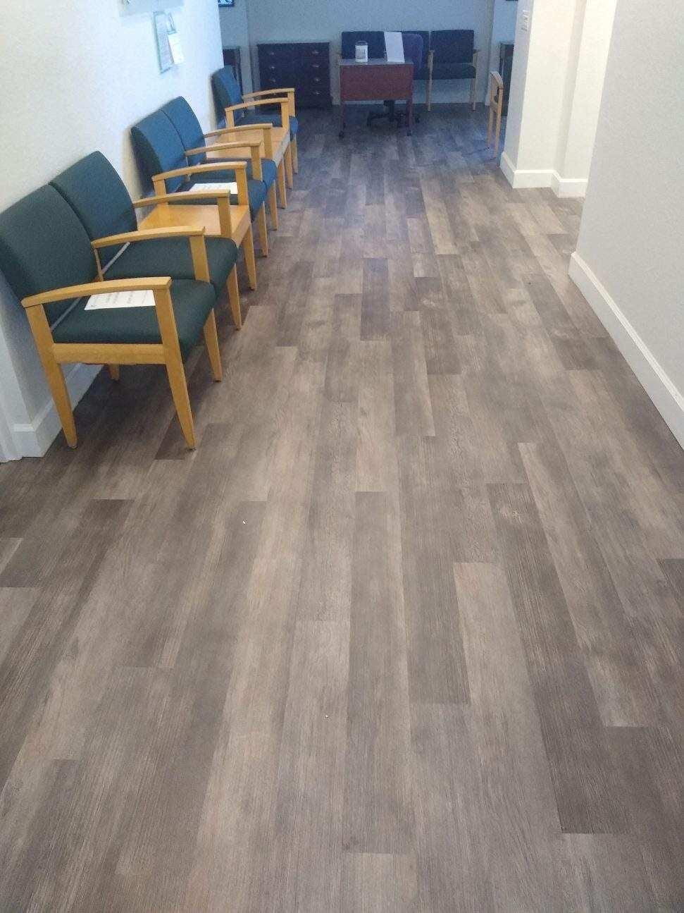 Office flooring installation in Bradenton, FL from Paradise Floors and More