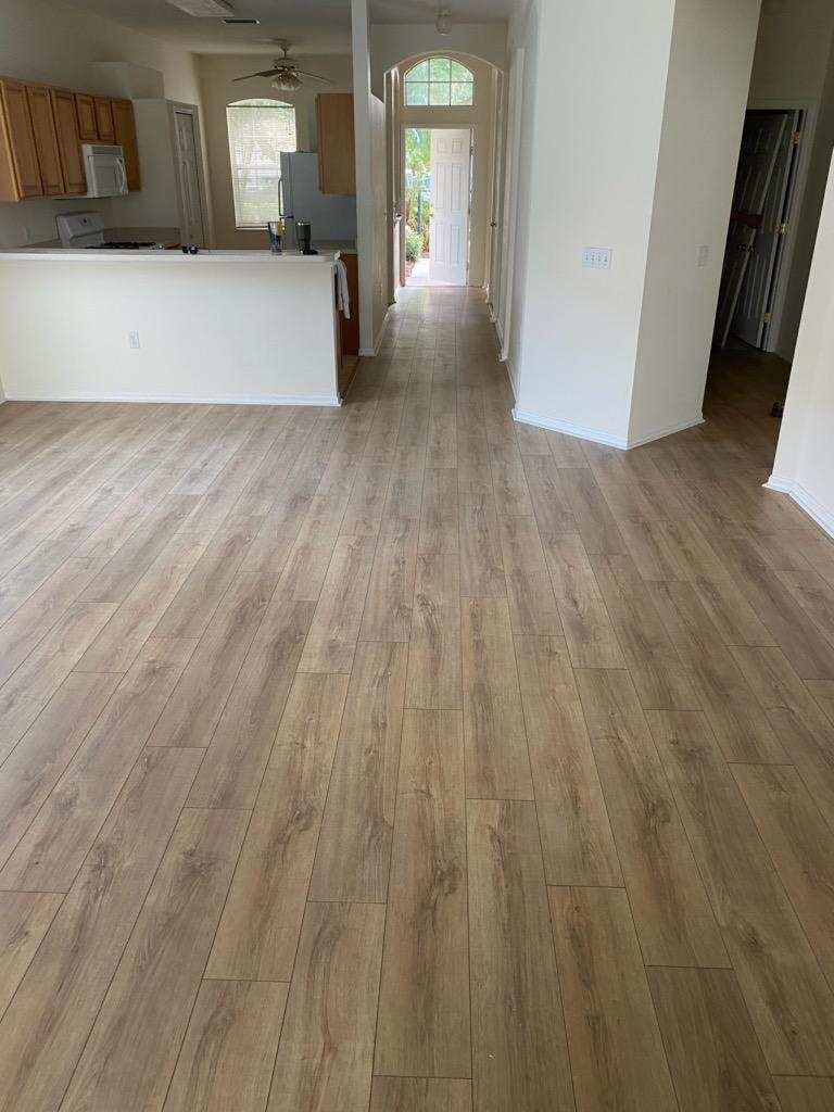 Hardwood flooring installation in Sarasota, FL from Paradise Floors and More