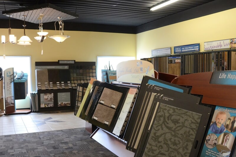 Carpet floors in Solon, IA from the Christian's Carpets & Fine Flooring showroom