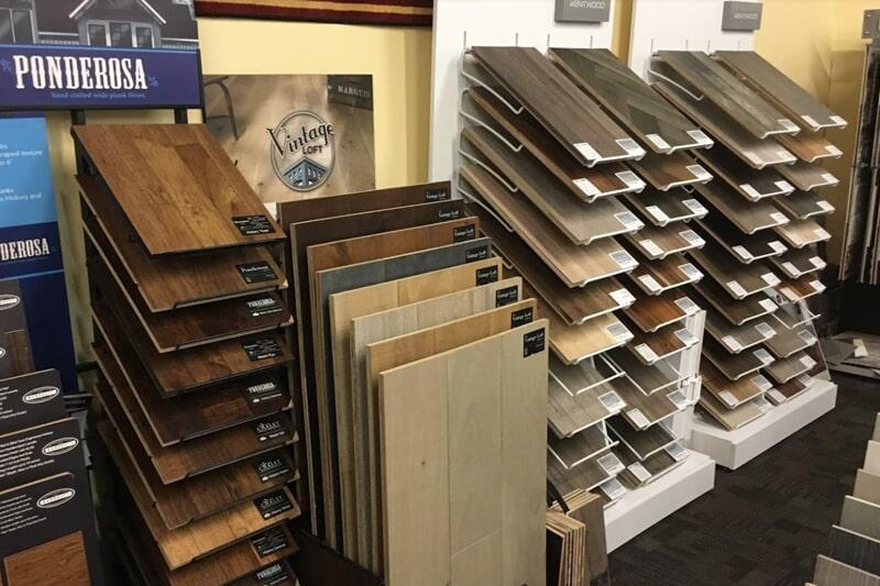 Hardwood in Iowa City, IA from the Christian's Carpets & Fine Flooring showroom
