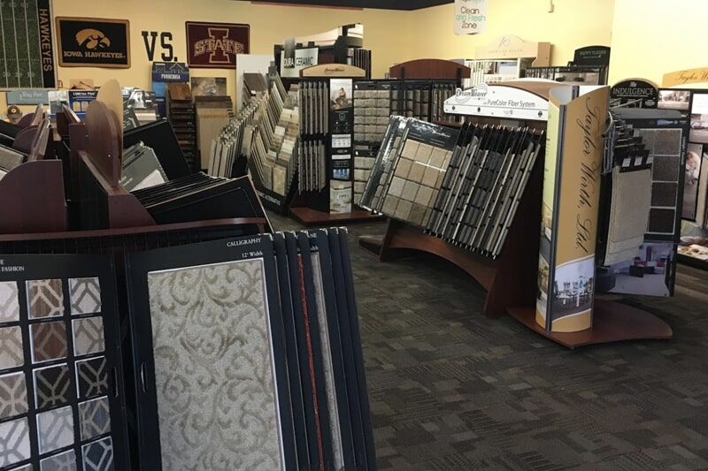 Carpet floors in North Liberty, IA from the Christian's Carpets & Fine Flooring showroom