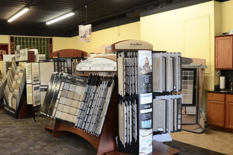 Carpet flooring in Solon, IA from the Christian's Carpets & Fine Flooring showroom