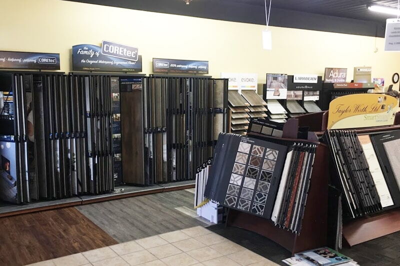 Tile in Oroville, IA from the Christian's Carpets & Fine Flooring showroom