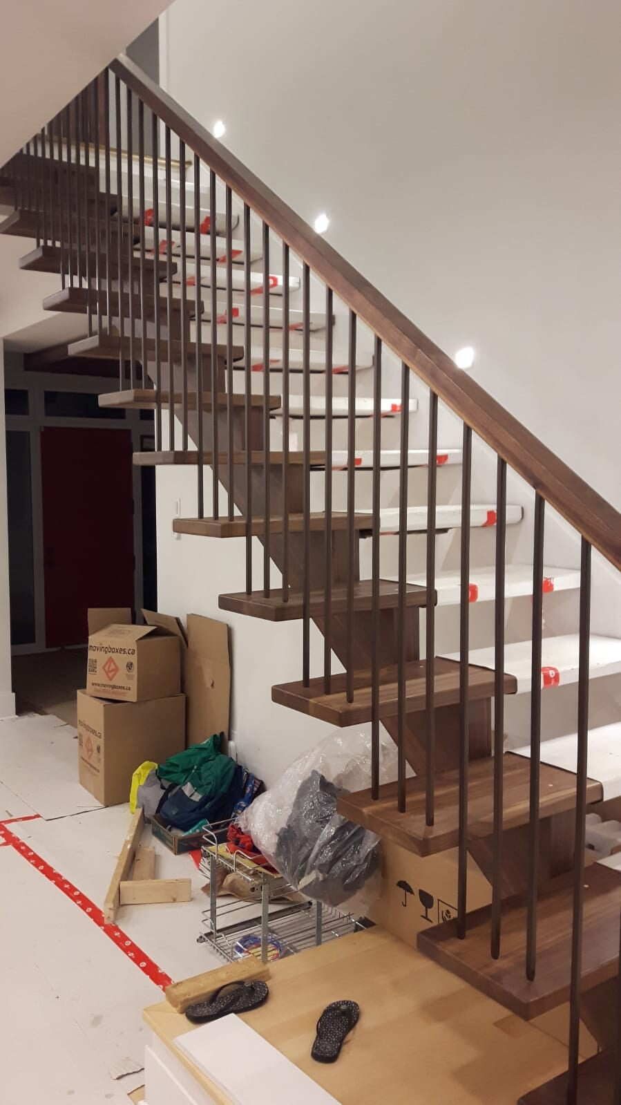 Wood stairs in Nepean, ON from Advantage Flooring