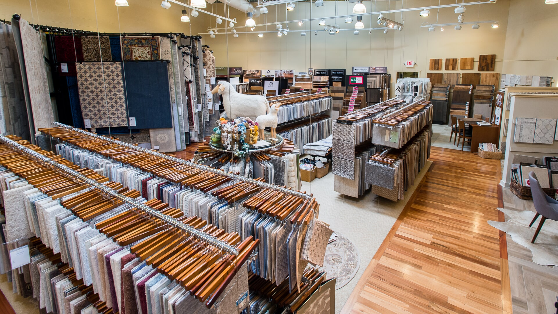 Endless flooring options at Carlson's Floors in Geneva, IL