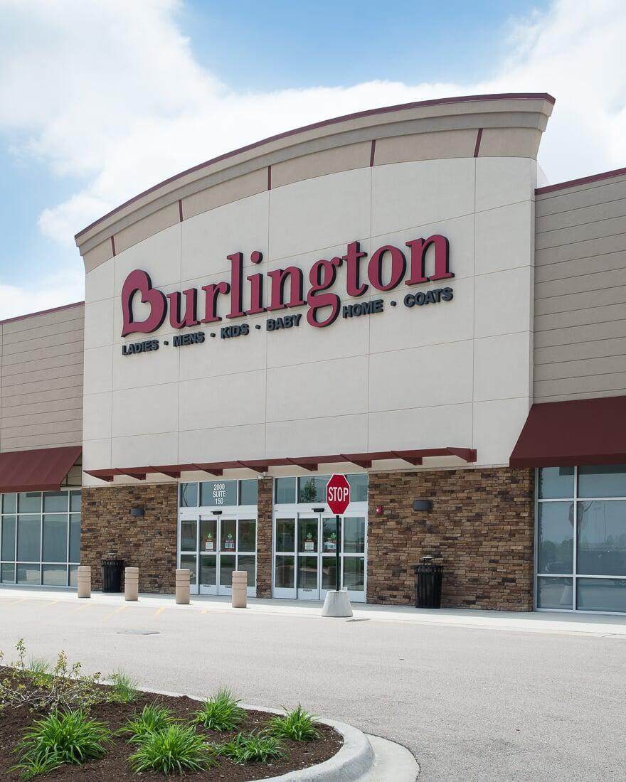 Flooring project at Burlington in Burbank, IL from Carlson's Floors