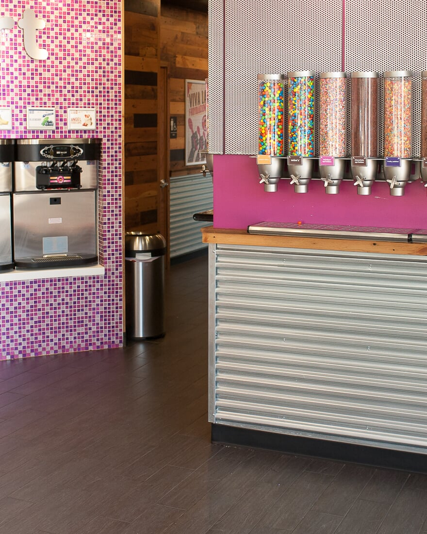 Commercial project at Forever Yogurt in St. Charles, IL from Carlson's Floors